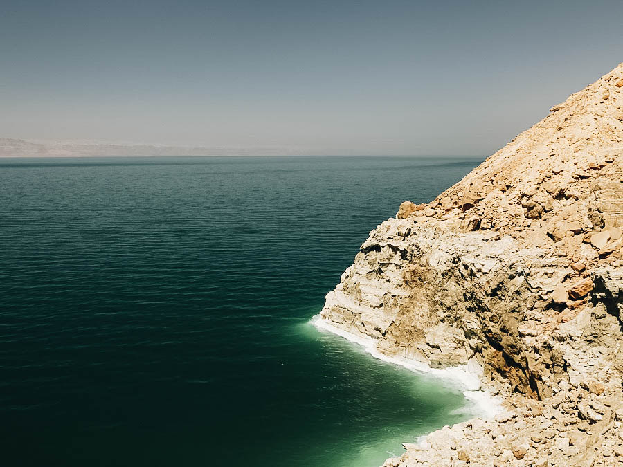 A great view of Dead Sea in Jordan