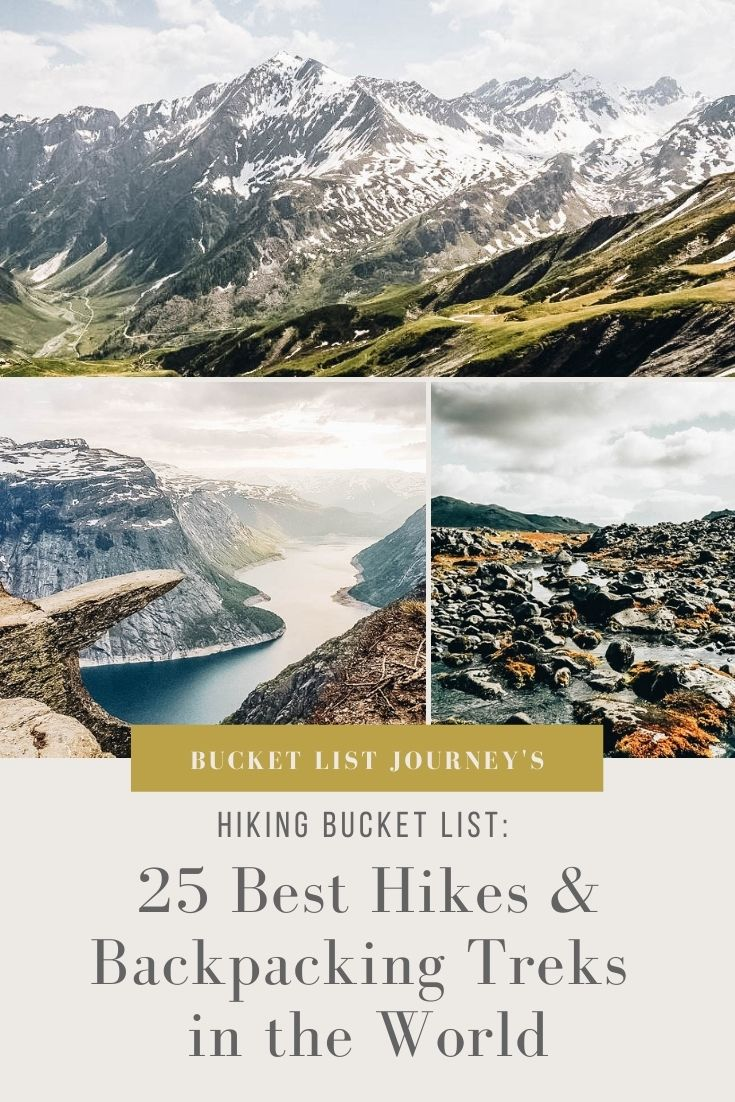 The Best Backpacking Treks and Hikes in the World