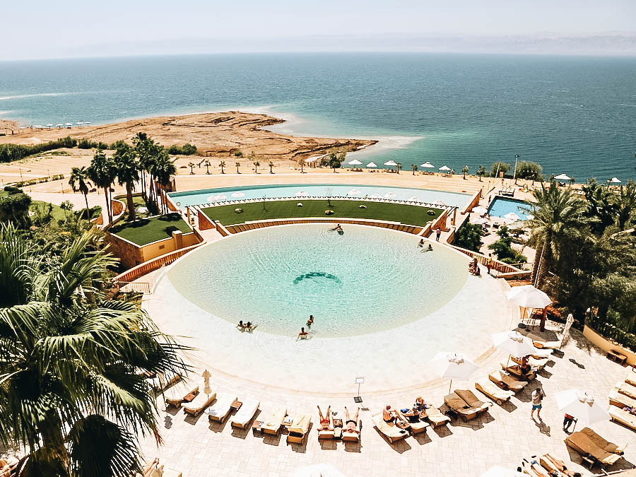 A photo of a hotel near Dead Sea Jordan