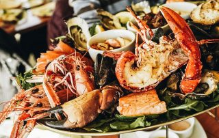 A mouthwatering plate of Lobsters