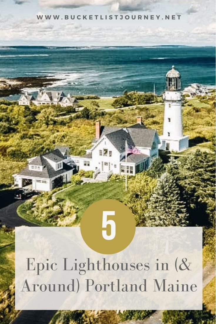 From Cape Elizabeth Lighthouse to Portland Head Light, these lighthouses in Portland Maine are the best ones to put on your must visit map.