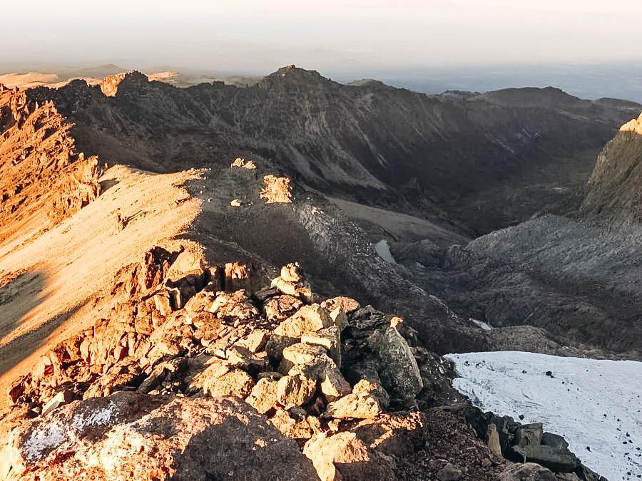 A view of Mount Kilimanjaro, Tanzania