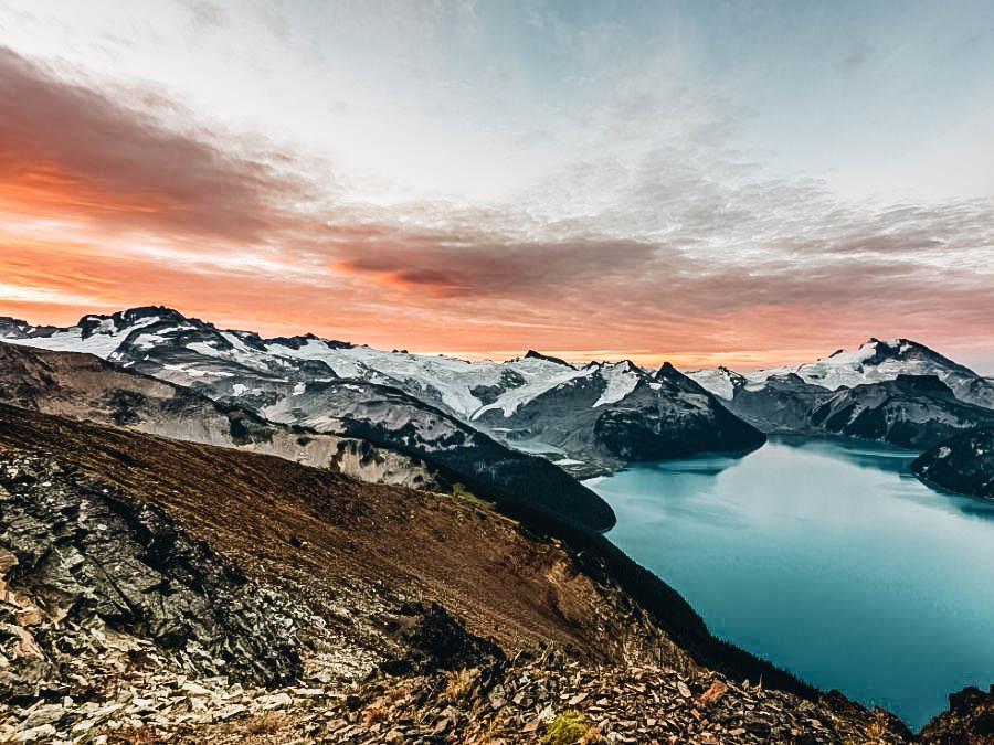 A view of Panorama Ridge Garibaldi Provincial Park, Canada
