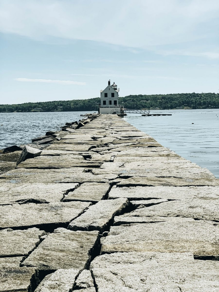 A view Rockland Breakwater