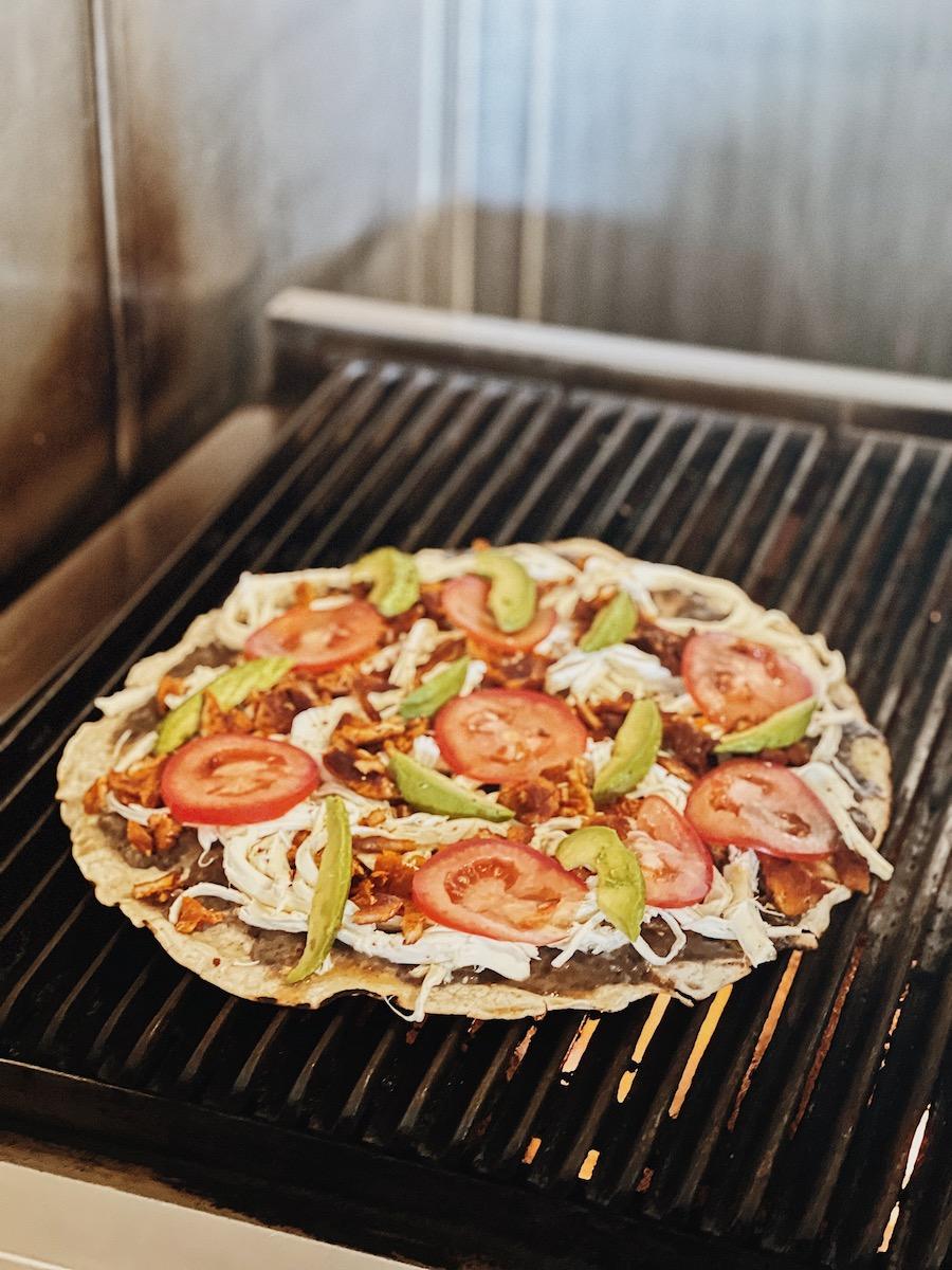 Tlayuda Mexico Food
