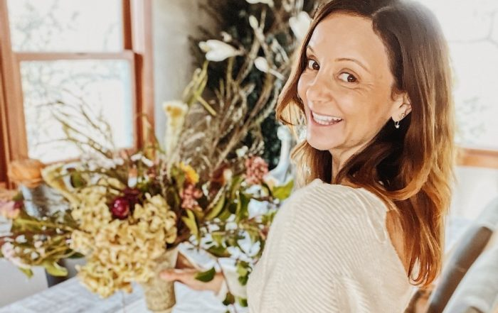 Annette White of Bucket List Journey sends Flowers to Herself for Her Birthday