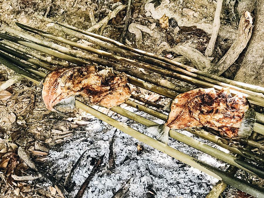 Cooking Piranha