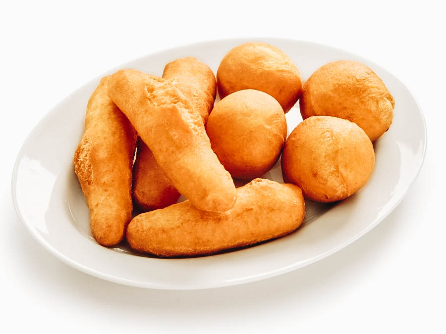 Jamaican fried dough, known as festival