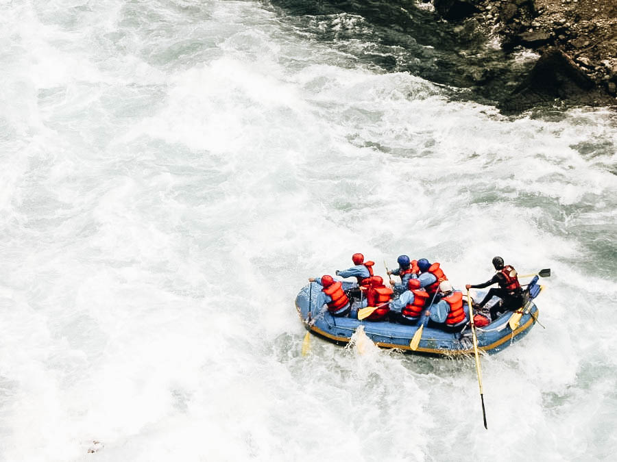 Go on a White Water Rafting Adventure