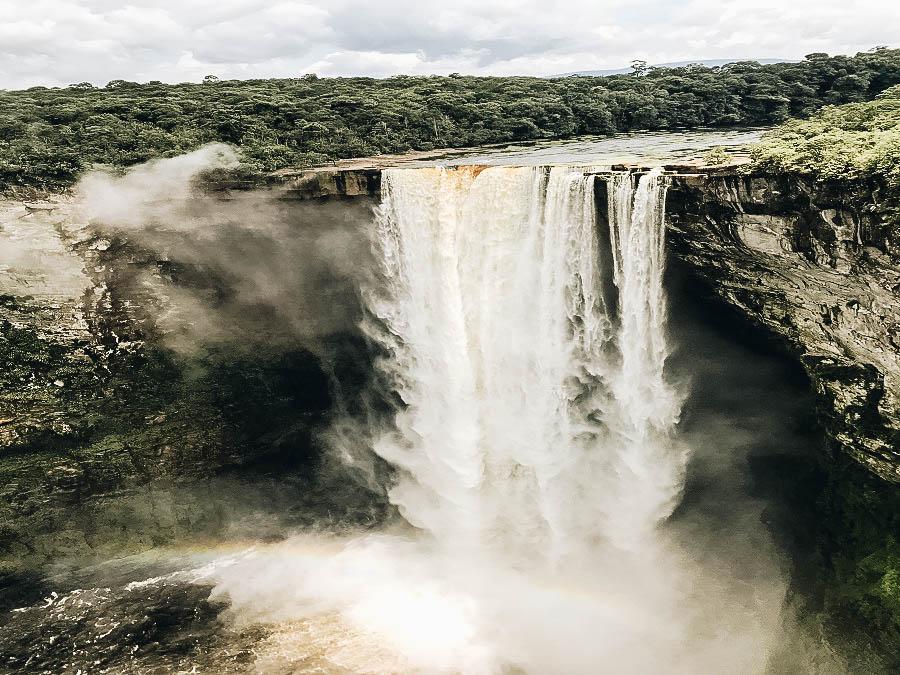 A photo of Kaieteur Falls in Guyana