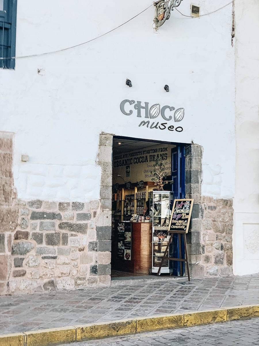 Door of the Choco Museo