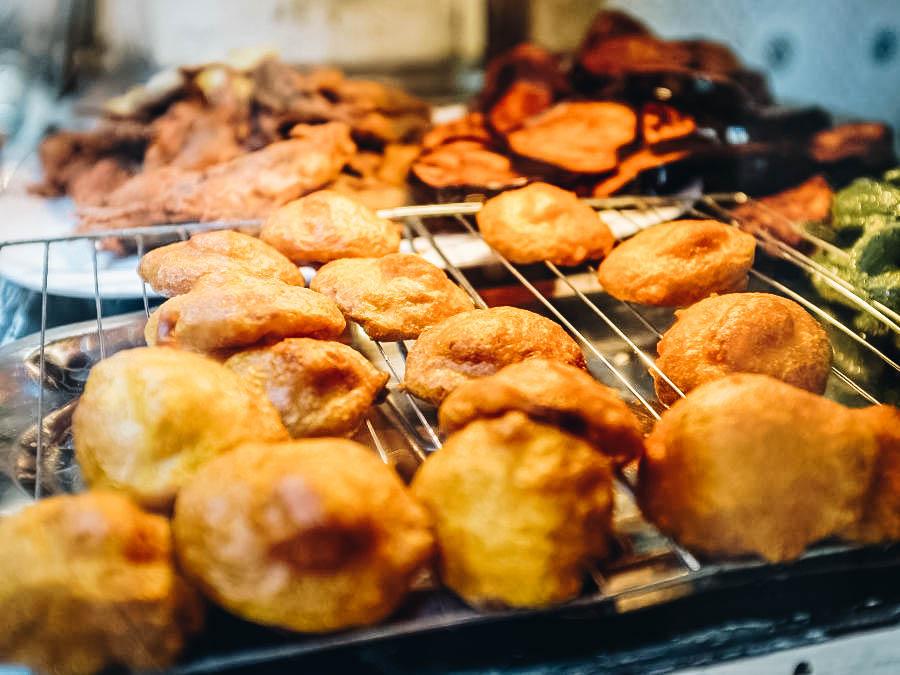 Moroccan potato cakes or fritters Maakouda