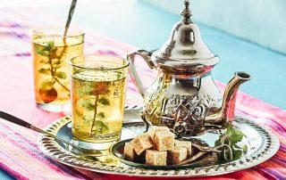 Moroccan Mint Tea or Maghrebi mint tea