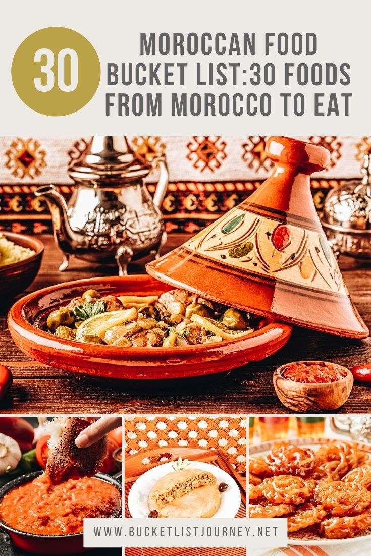 The Best Moroccan Dishes and Foods from Morocco to Eat