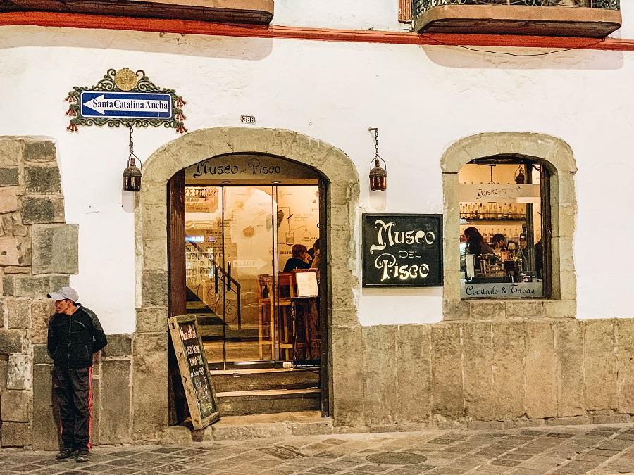 Museo del Pisco door