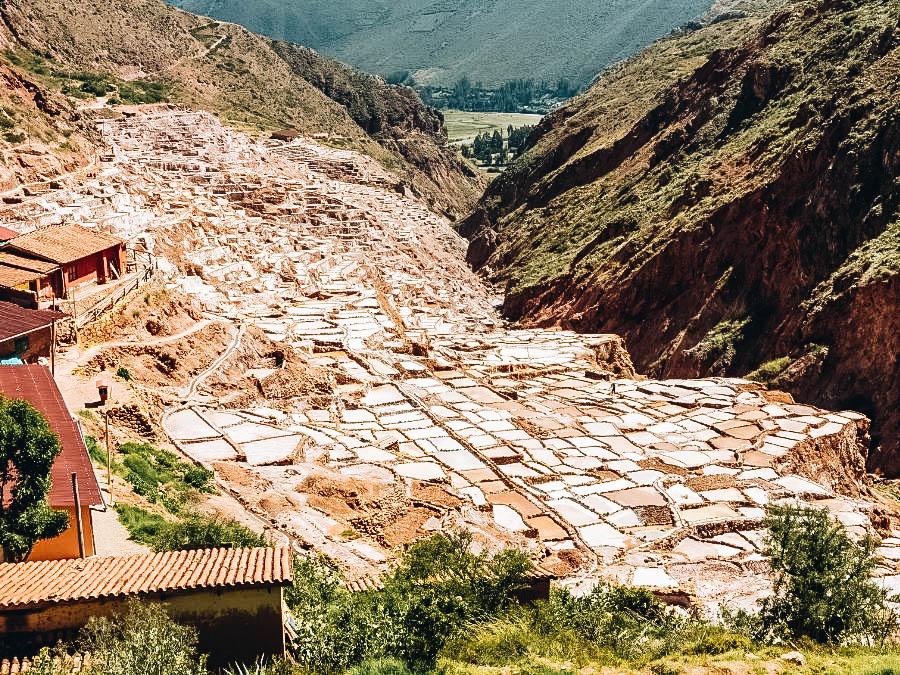 Ogle the Maras Salt Mines