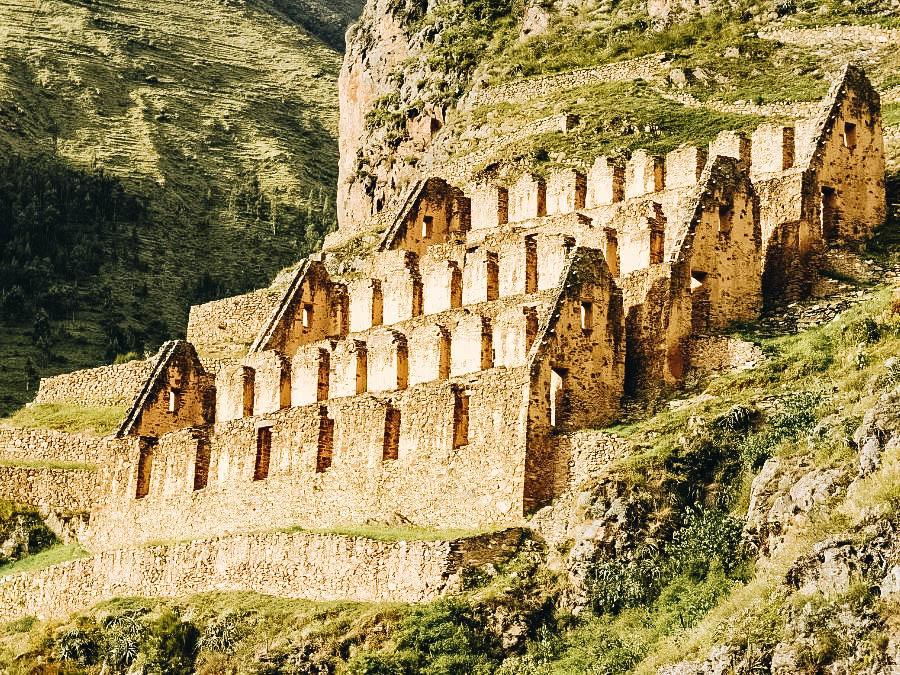 See the Preserved Inca City of Ollantaytambo