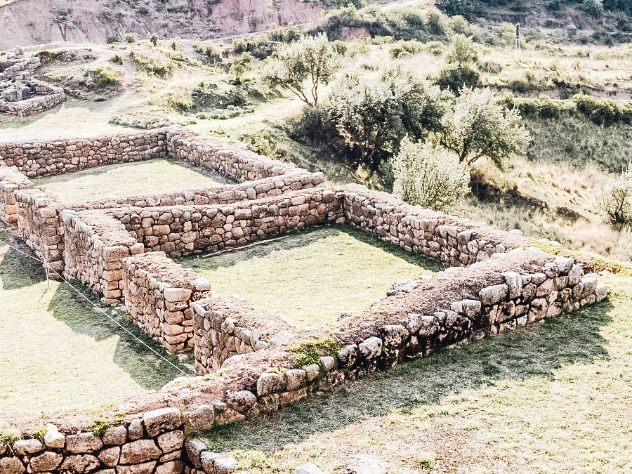 Stop by the Puka Pukara Archaeological Complex