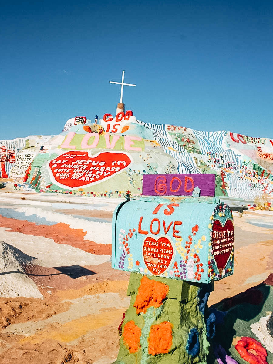 Be Inspired At Salvation Mountain