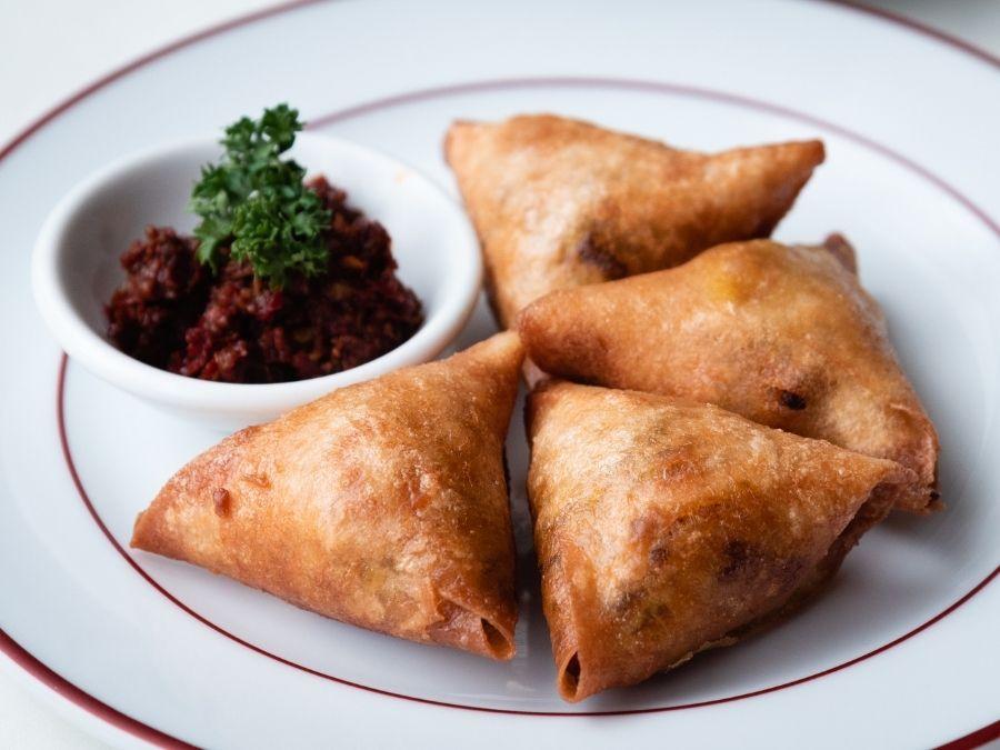 Briouats Moroccan Food