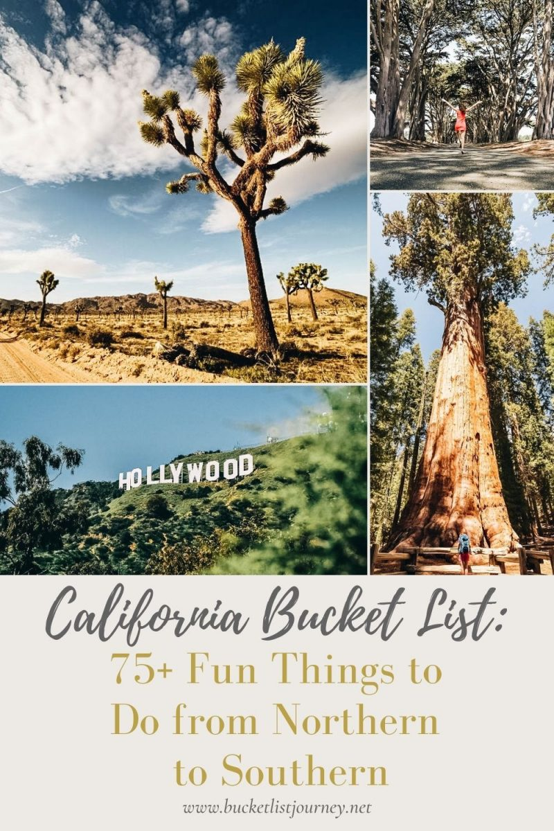 The Best California Attractions, Activities & Fun Things to Do from Northern to Southern