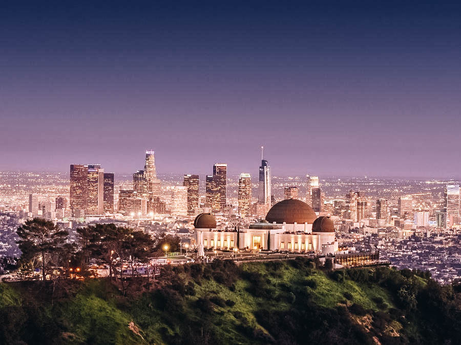 Check the City View at Griffith Observatory