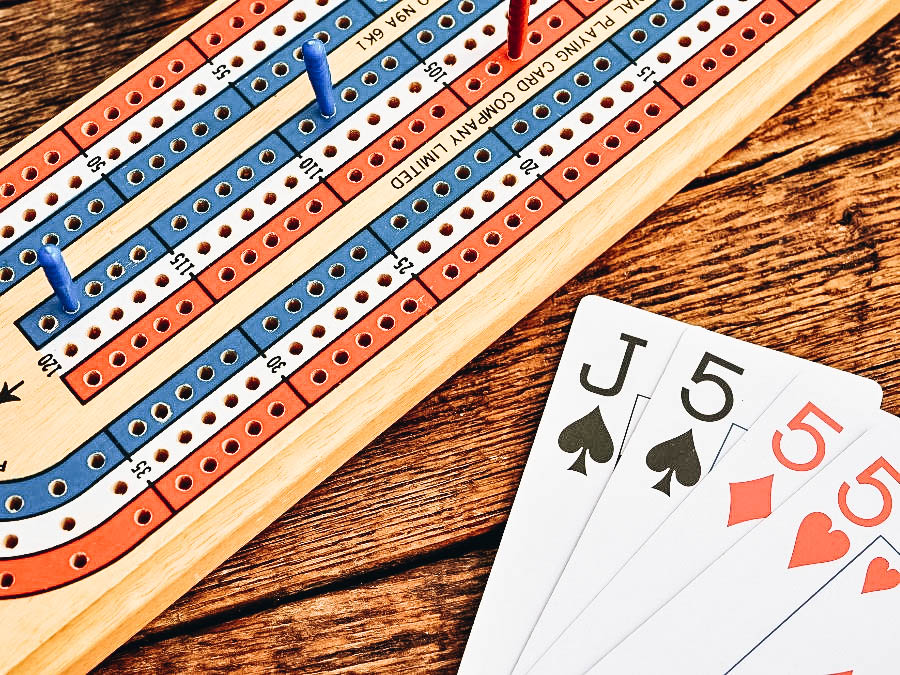 Cards and Boards for Cribbage