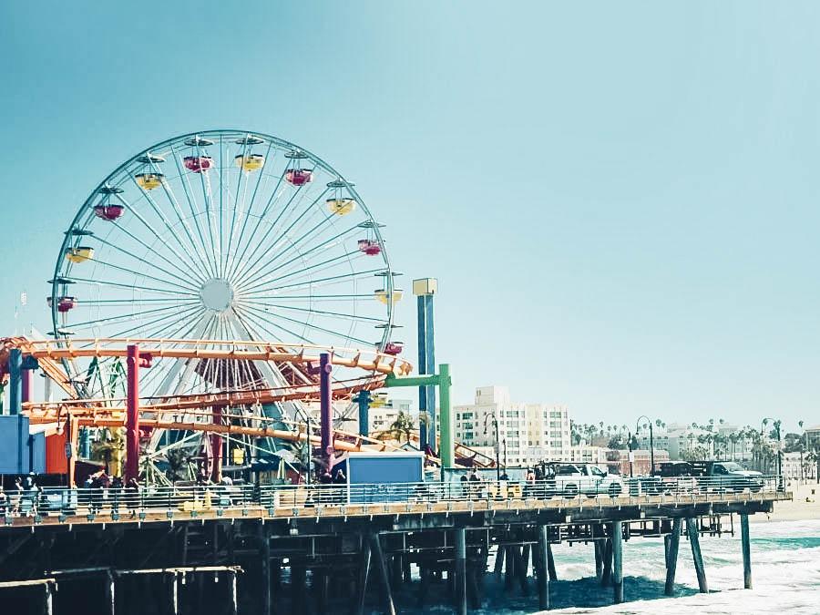 Have Fun at Santa Monica Pier