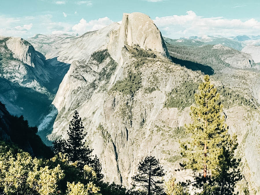 A photo of the Top of Half Dome