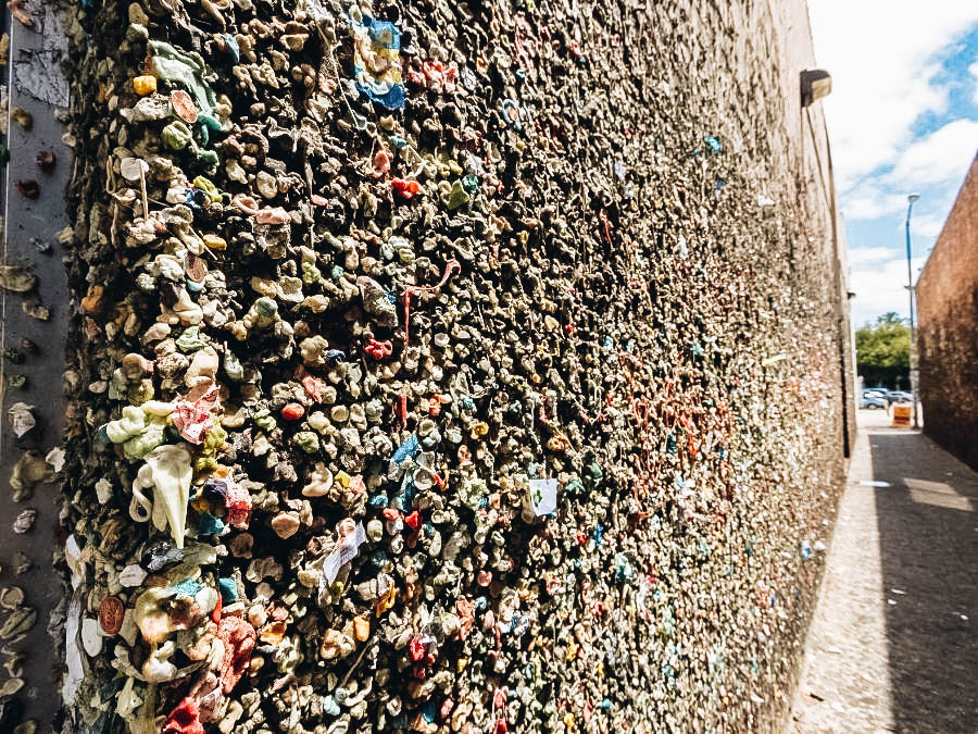 Leave a Deposit on the Gum Wall in San Luis Obispo