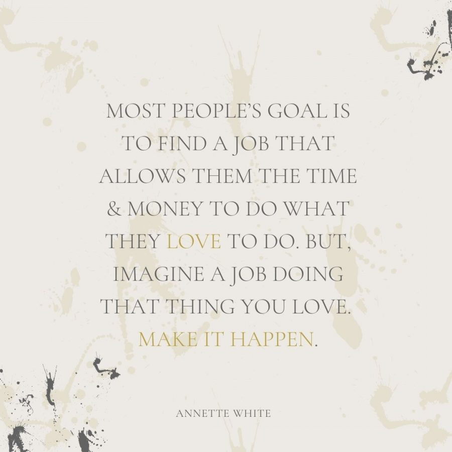 Most people's goal is to find a job that allows them the time & money to do what they love to do. But, imagine a job doing that thing you love. Make it happen