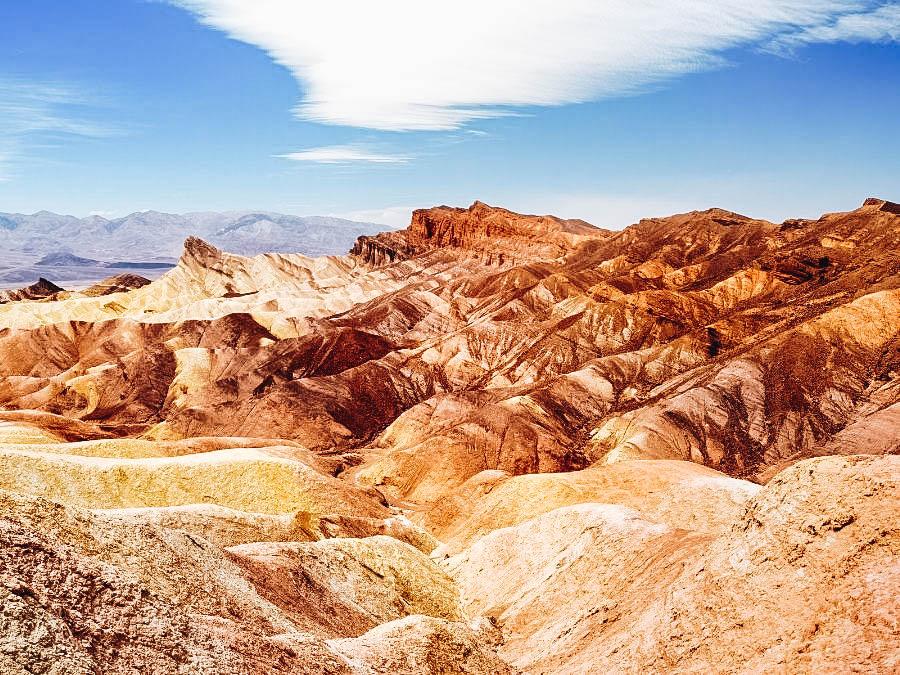 Photograph Zabriskie Point at Death Valley National Park