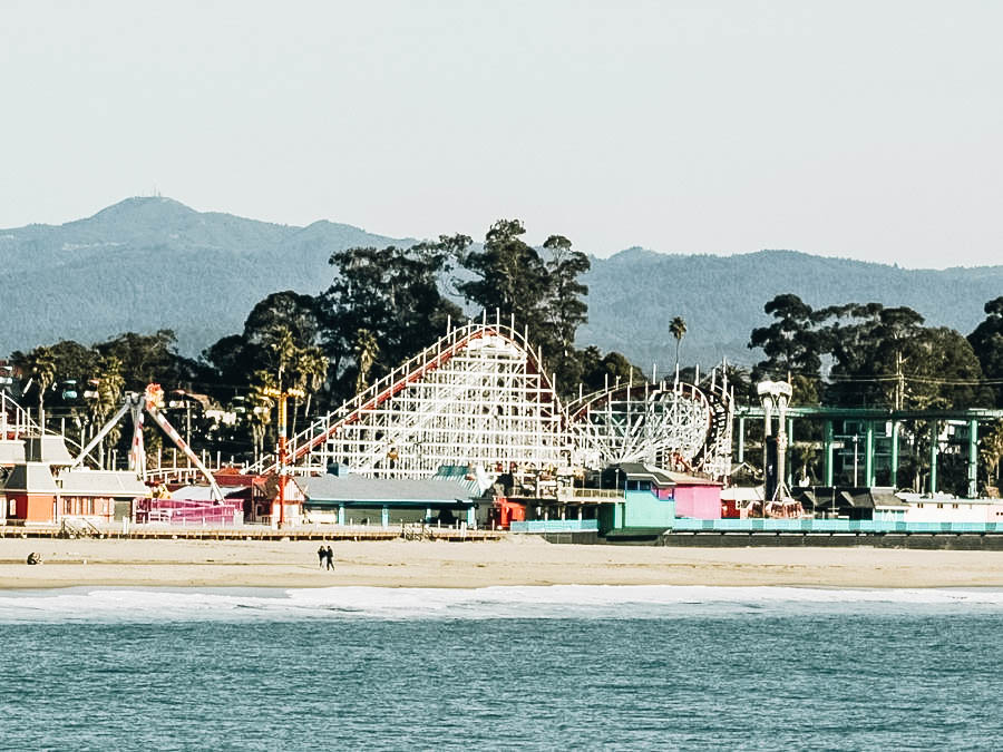 Ride the Giant Dipper at the Santa Cruz Beach Boardwalk