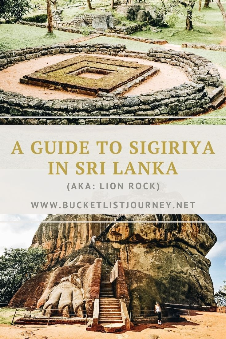 A Guide to Sigiriya in Sri Lanka (aka: Lion Rock)