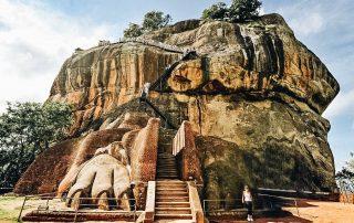 A photo Sigiriya Rock Fortress