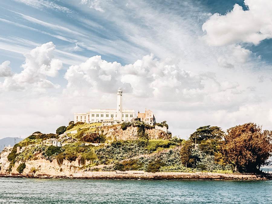 A photo of world famous Alcatraz