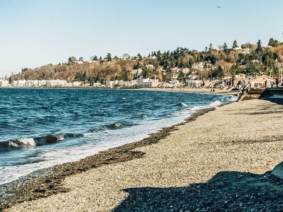 Relax at Alki Beach