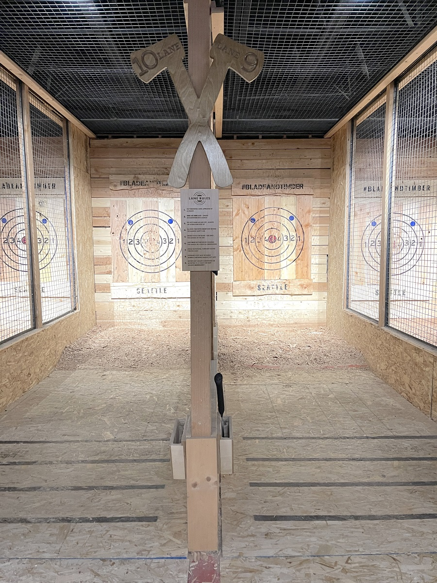 Axe throwing targets