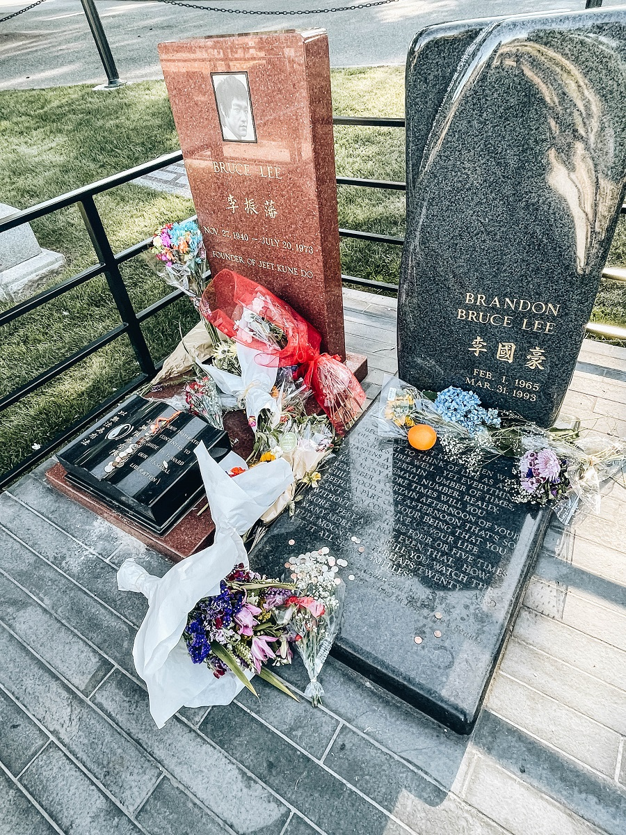 Pay Your Respects at The Bruce Lee Grave Site