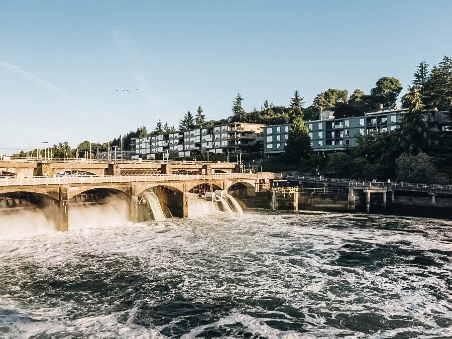 See The Hiram M. Chittenden Locks