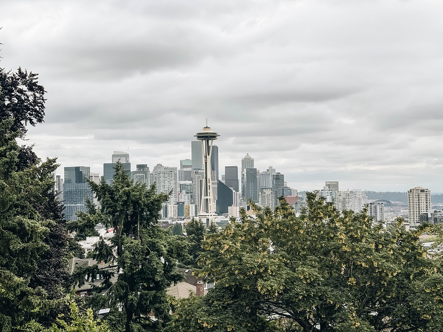 Get The Best View of Seattle at Kerry Park