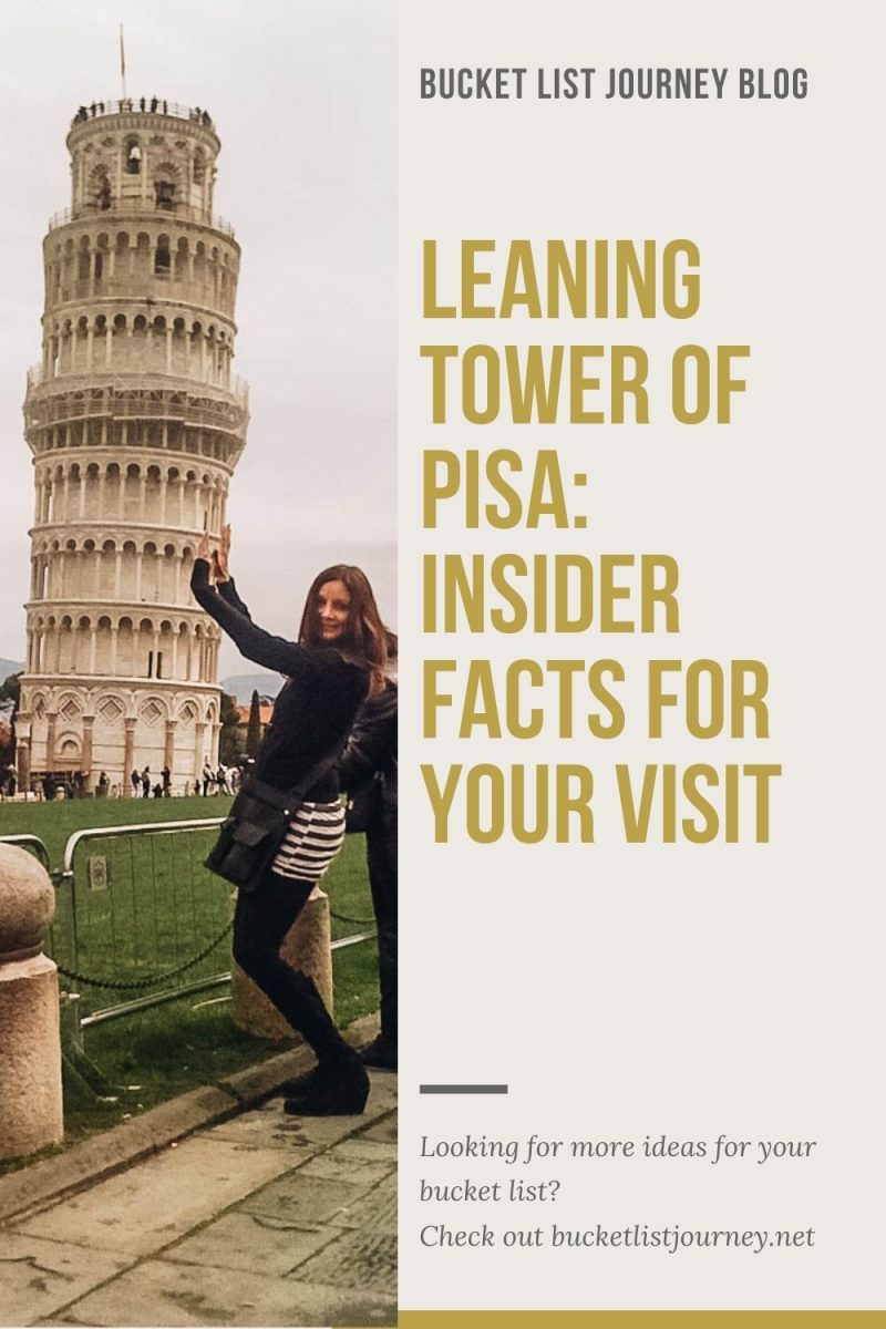 Torre de Pisa: Insider Facts for Your Visit to the Leaning Tower of Pisa