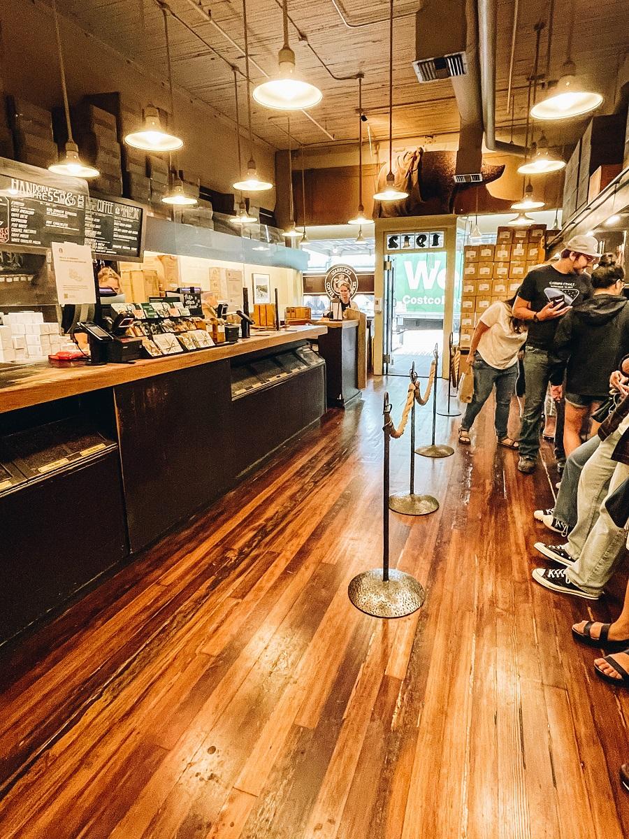 Get Coffee at The Original Starbucks