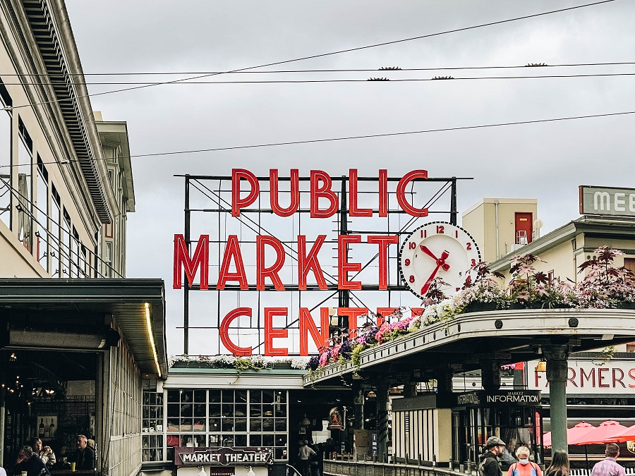 Shop & Eat at Pike's Place Market