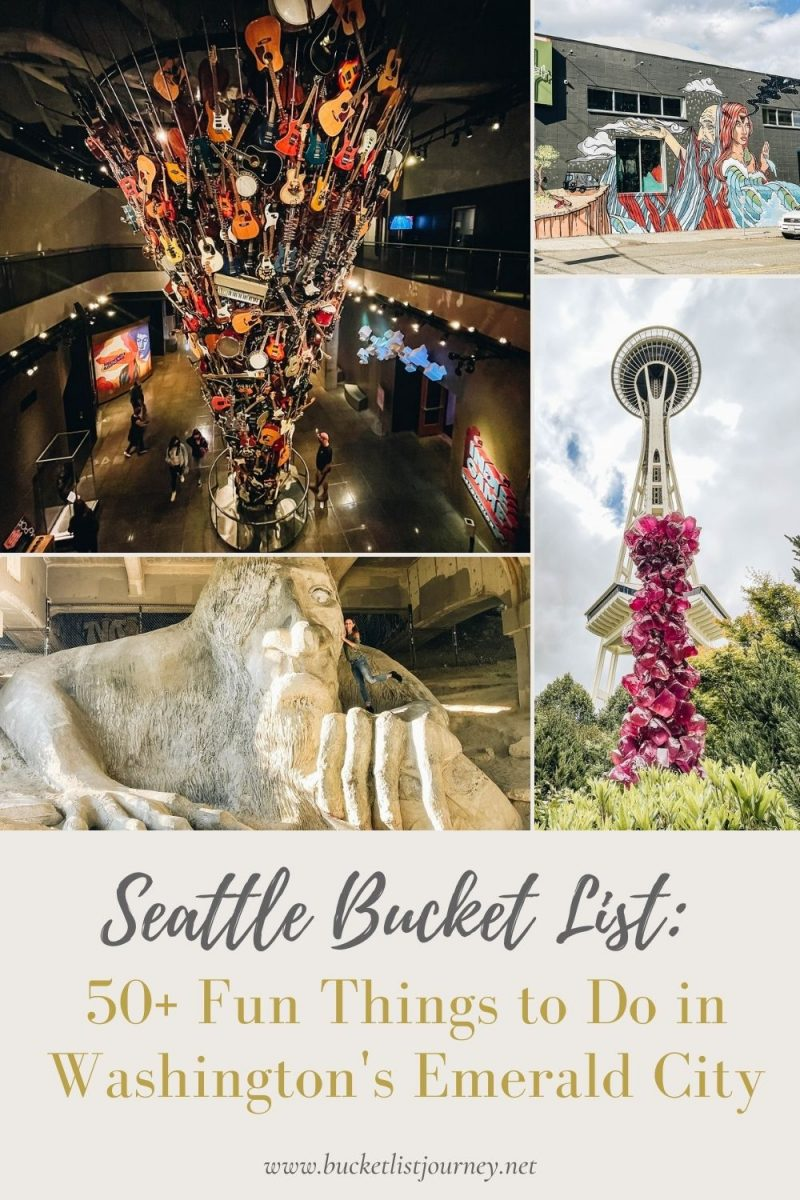 Bucket List: The Best Attractions & Fun Things to Do in Seattle, Washington