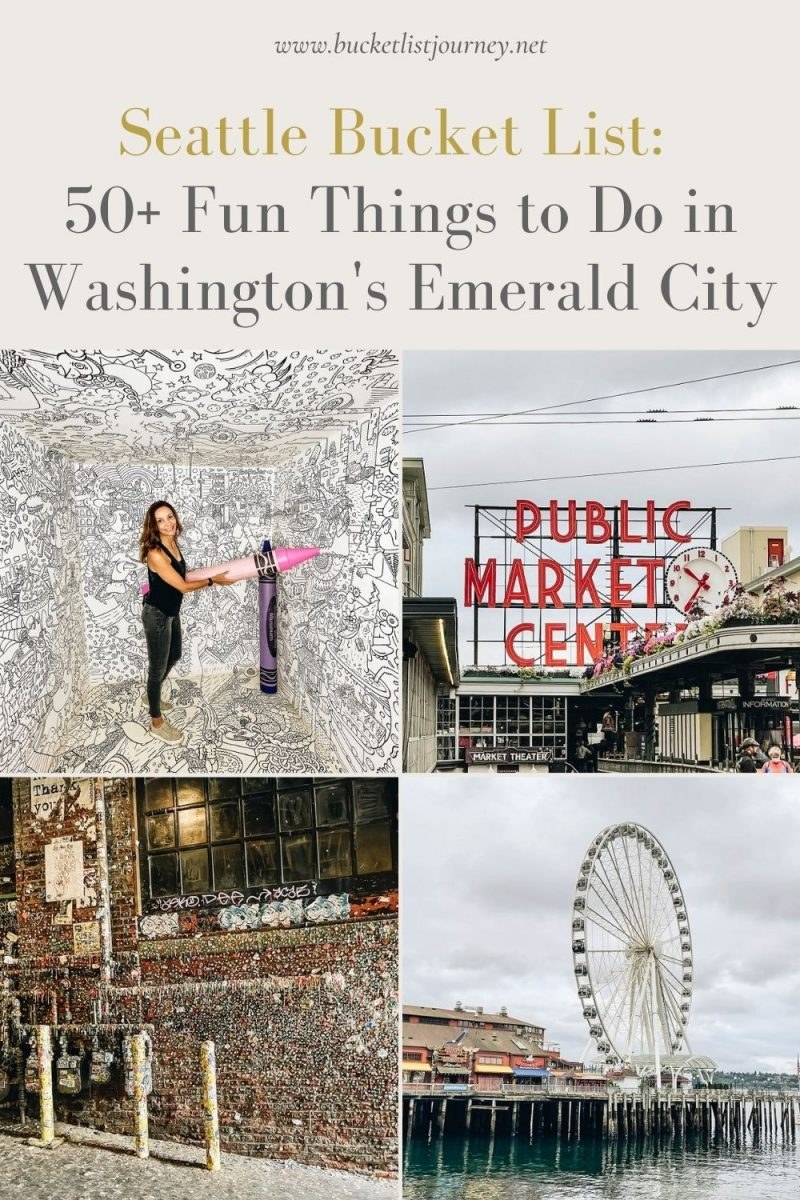 The Best Attractions & Fun Things to Do in Seattle, Washington