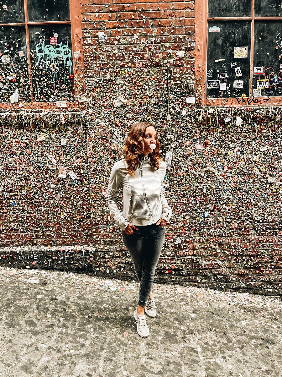 Leave Your Mark on The Post Alley Gum Wall