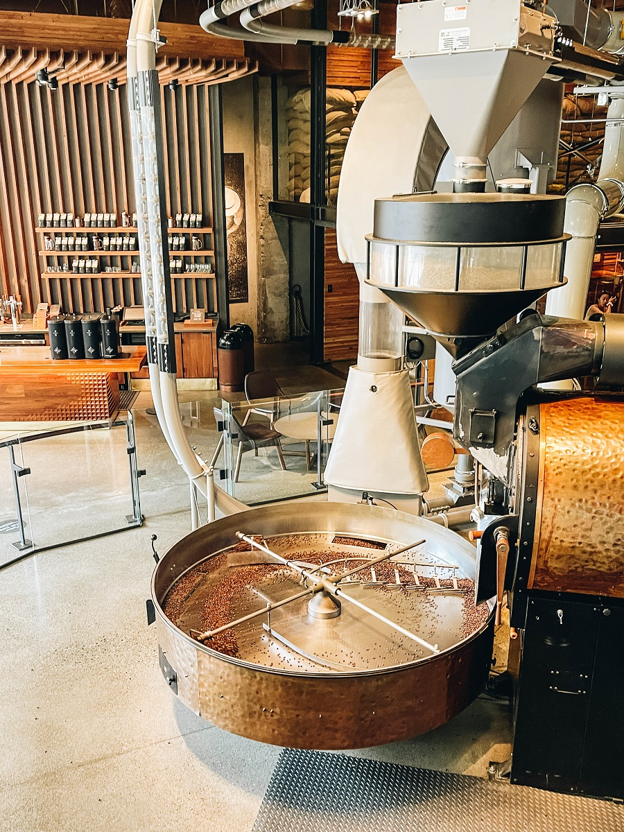 Do a Tasting at The Starbucks Reserve Roastery