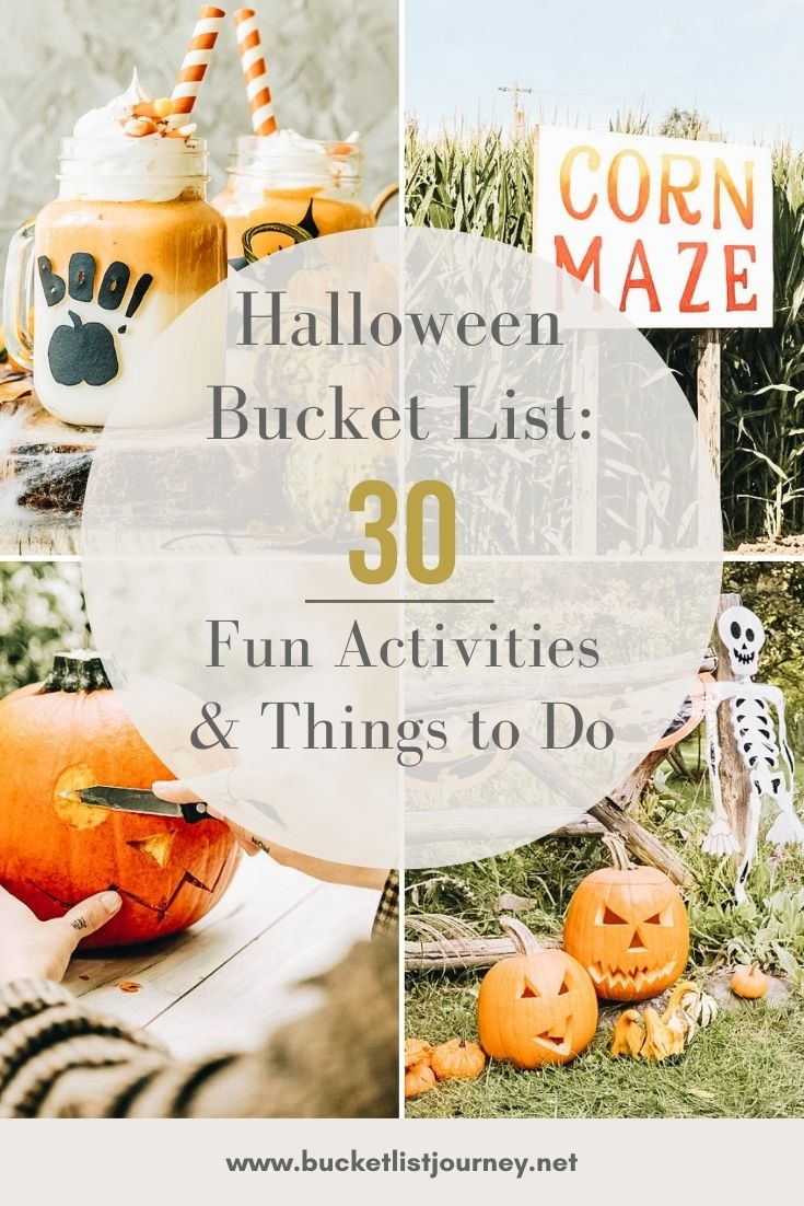 Halloween Bucket List Ideas: Fun Activities & Things to Do