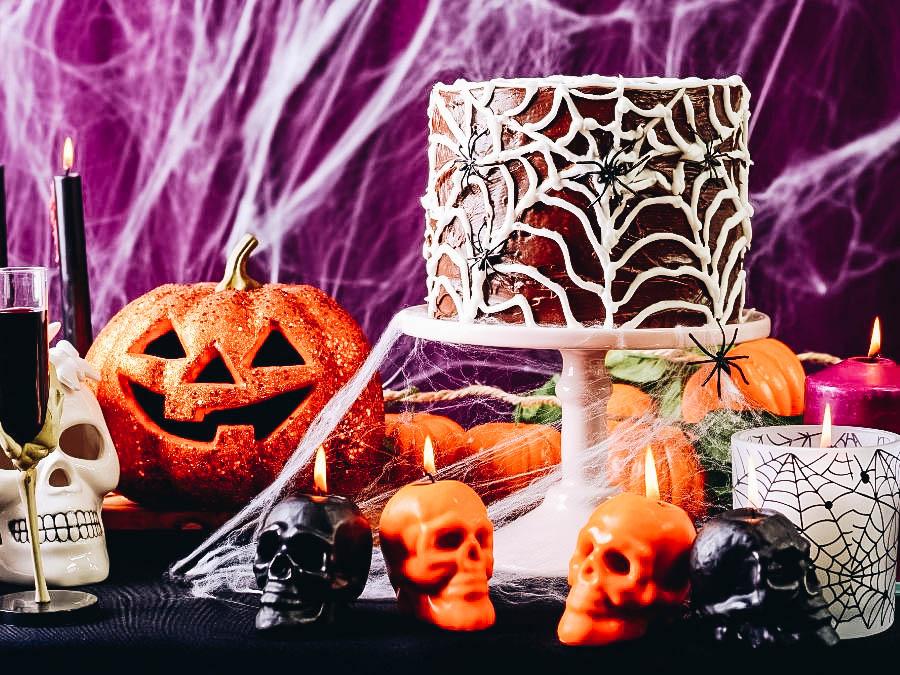 A Halloween Spooky table